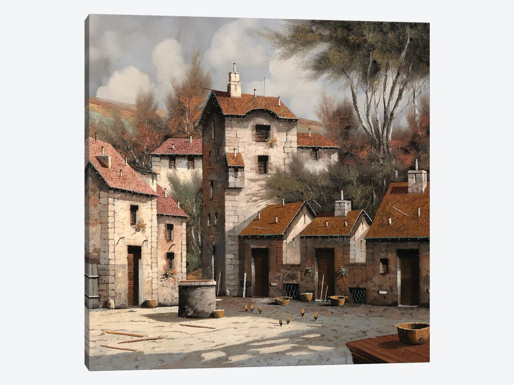 Aia Bianca by Guido Borelli 1-piece Canvas Art Print
