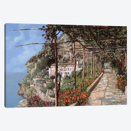 L'Albergo Dei Cappuccini Amalfi 3-Piece Canvas #GUB92} by Guido Borelli Canvas Print