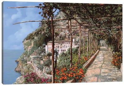 L'Albergo Dei Cappuccini Amalfi Canvas Art Print