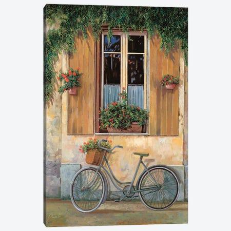 La Bici Canvas Print #GUB96} by Guido Borelli Canvas Artwork