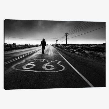Historical Road Canvas Print #GUO2} by Leah Guo Canvas Artwork