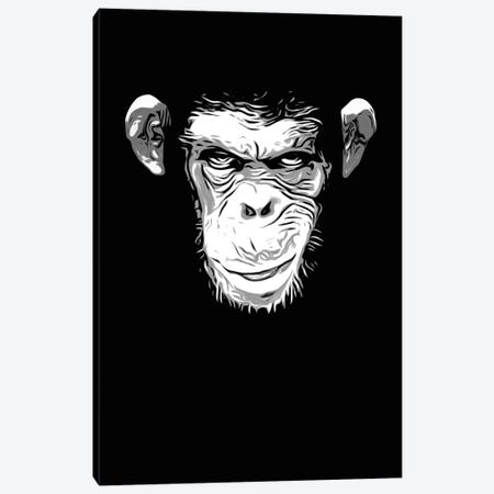 Evil Monkey Canvas Print #GUS11} by Nicklas Gustafsson Canvas Artwork