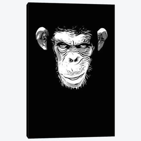 Evil Monkey Canvas Print #GUS11} by Nicklas Gustafsson Canvas Artwork