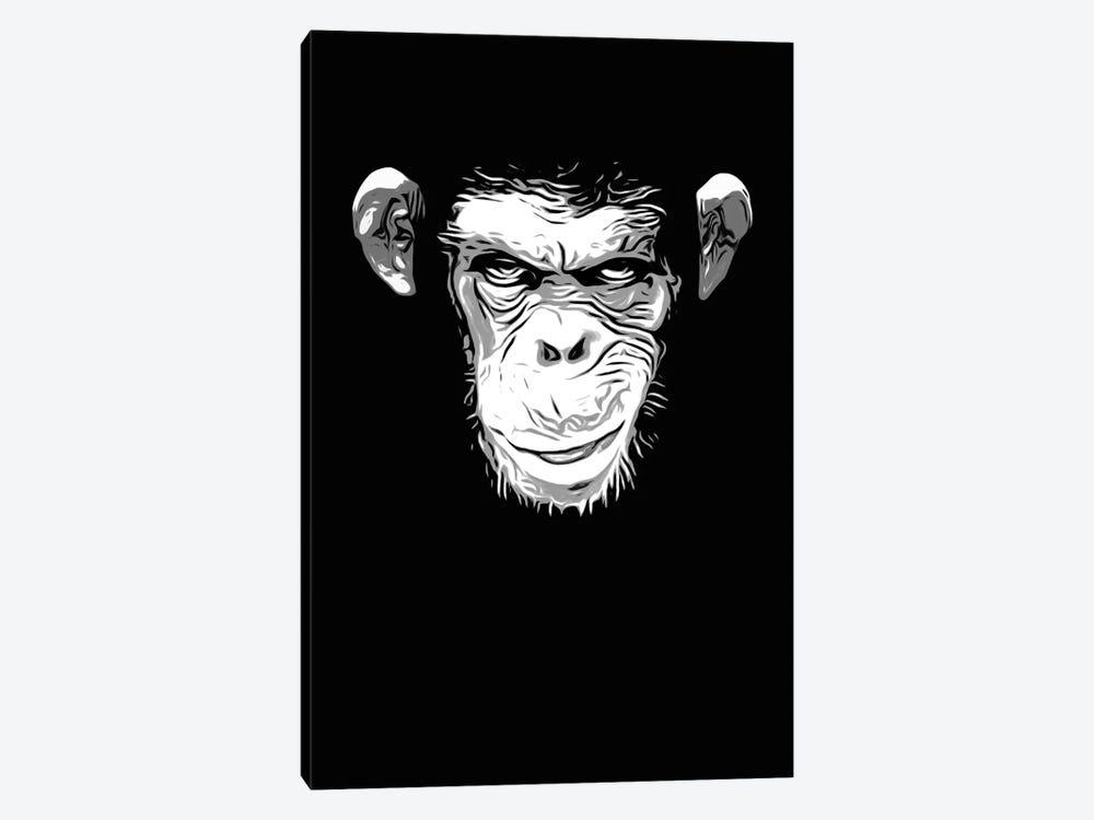 Evil Monkey by Nicklas Gustafsson 1-piece Canvas Art