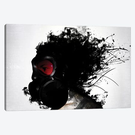 Ghost Warrior Canvas Print #GUS12} by Nicklas Gustafsson Canvas Art