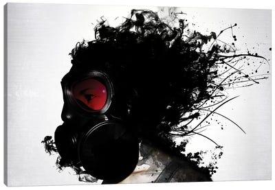 Ghost Warrior Canvas Art Print