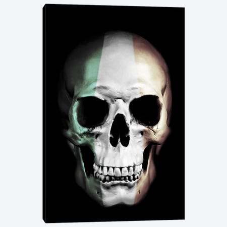 Irish Skull Canvas Print #GUS14} by Nicklas Gustafsson Canvas Print