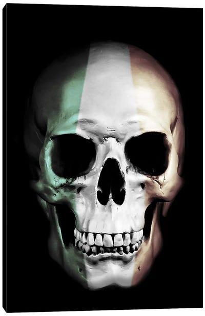 Irish Skull Canvas Art Print