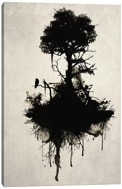 Last Tree Standing Canvas Art Print