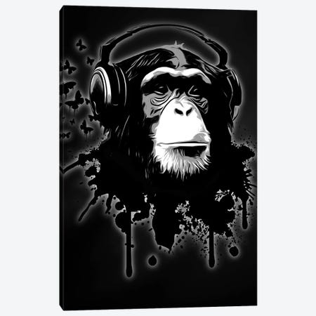 Monkey Business 3-Piece Canvas #GUS17} by Nicklas Gustafsson Canvas Art Print