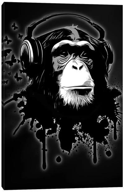 Monkey Business Canvas Art Print