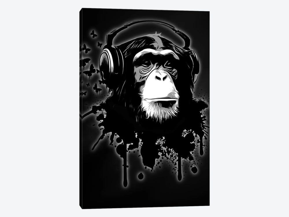 Monkey Business by Nicklas Gustafsson 1-piece Canvas Wall Art