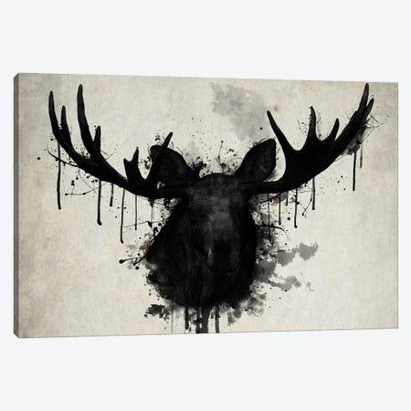 Moose Canvas Print #GUS19} by Nicklas Gustafsson Canvas Art