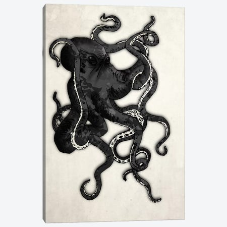 Octopus Canvas Print #GUS23} by Nicklas Gustafsson Art Print