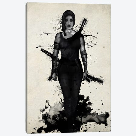 Onna Bugeisha Canvas Print #GUS24} by Nicklas Gustafsson Canvas Wall Art