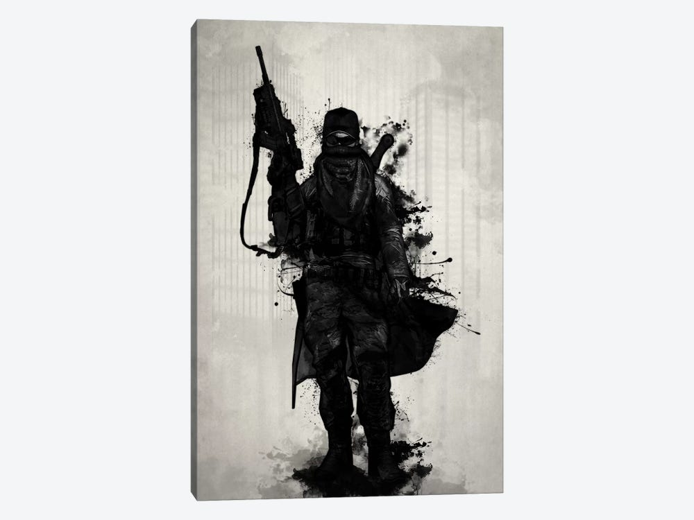 Post-Apocalyptic Warrior by Nicklas Gustafsson 1-piece Canvas Print