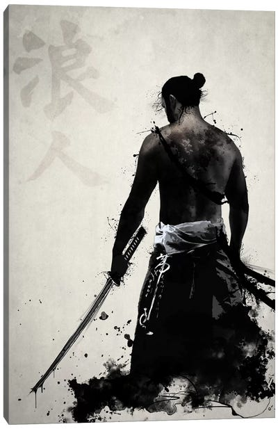 Ronin Canvas Art Print