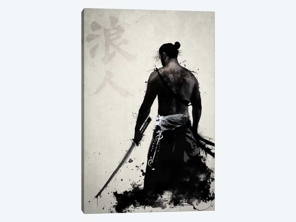 Ronin by Nicklas Gustafsson 1-piece Canvas Print
