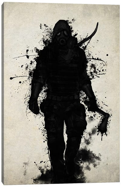 Apocalypse Hunter Canvas Art Print