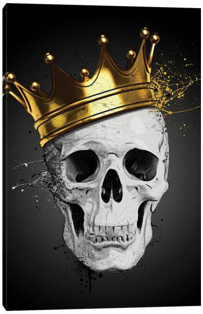 Royal Skull Canvas Art Print