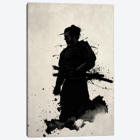 Samurai Canvas Print #GUS31} by Nicklas Gustafsson Canvas Wall Art