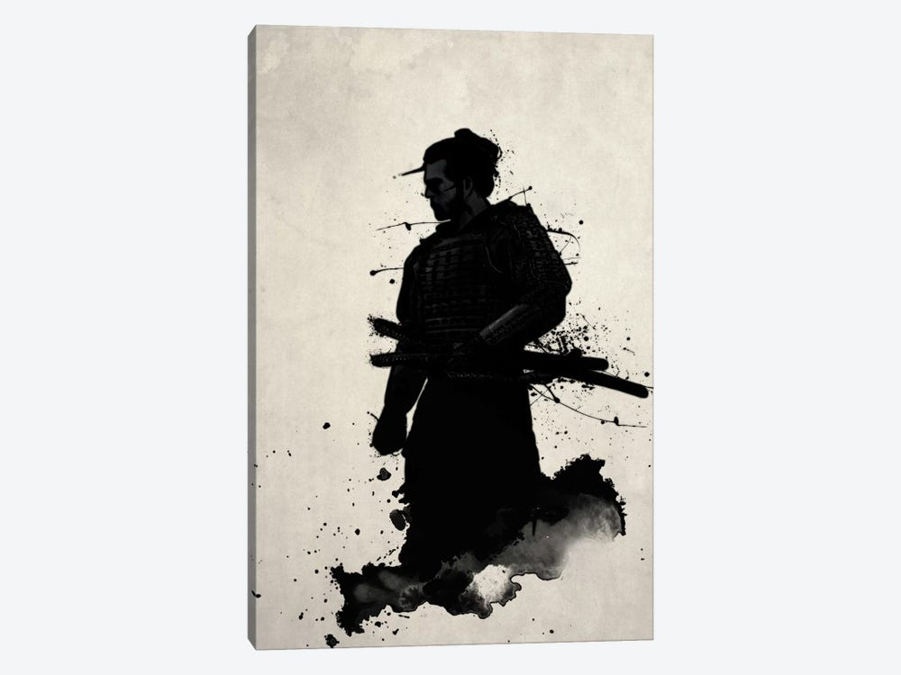 Samurai by Nicklas Gustafsson 1-piece Canvas Art