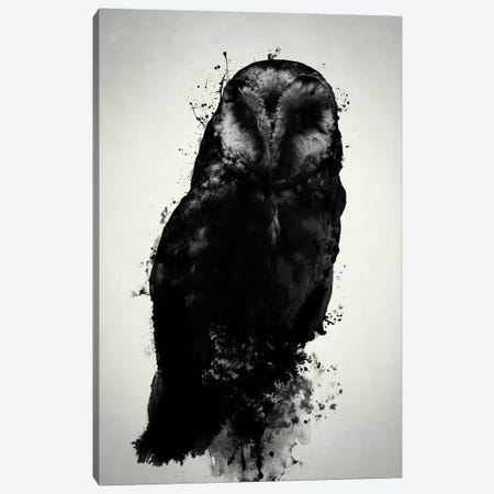 The Owl Canvas Print #GUS34} by Nicklas Gustafsson Art Print