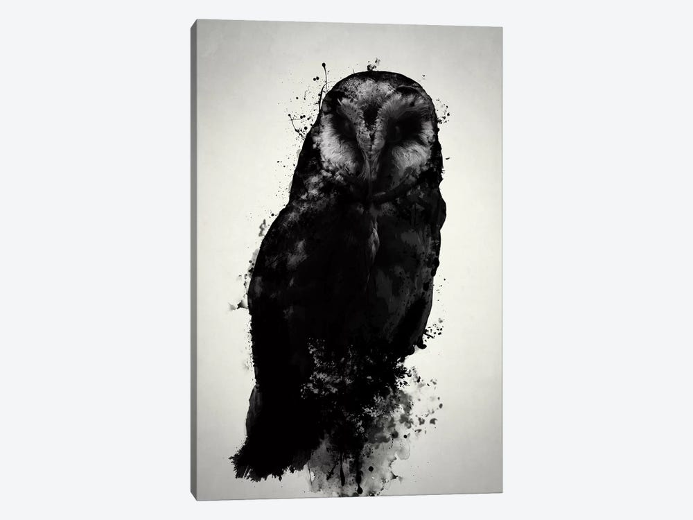 The Owl by Nicklas Gustafsson 1-piece Canvas Print