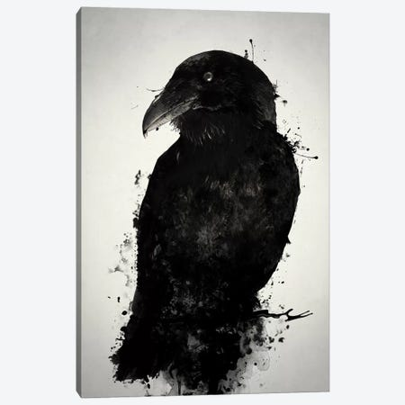 The Raven Canvas Print #GUS35} by Nicklas Gustafsson Canvas Art Print