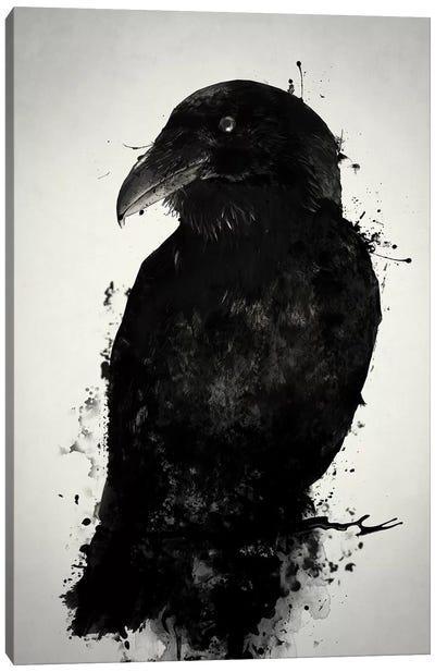 The Raven Canvas Art Print