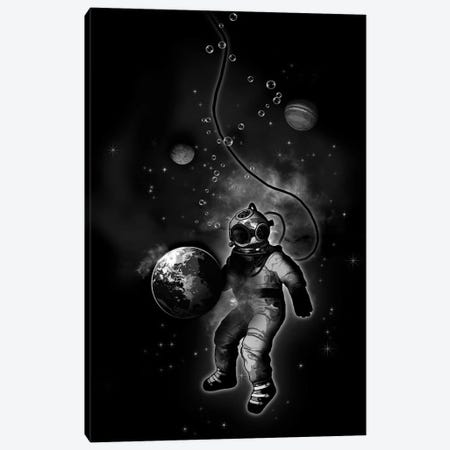 Deep Sea Space Diver Canvas Print #GUS37} by Nicklas Gustafsson Art Print