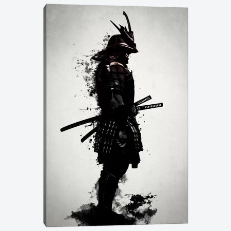 Armored Samurai Canvas Print #GUS3} by Nicklas Gustafsson Canvas Art Print
