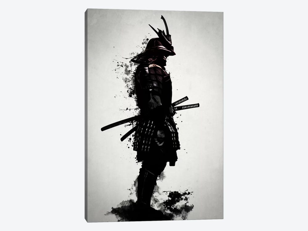 Armored Samurai 1-piece Canvas Wall Art