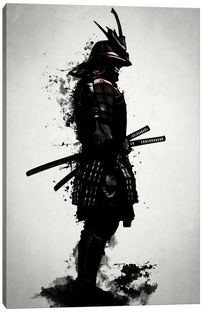 Armored Samurai Canvas Art Print