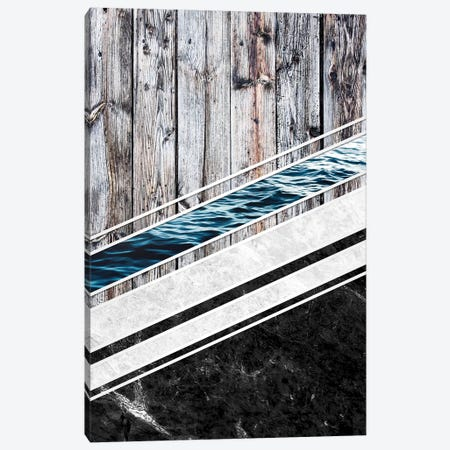 Striped Materials Of Nature I Canvas Print #GUS40} by Nicklas Gustafsson Art Print