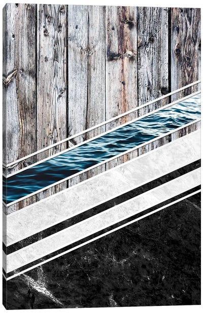 Striped Materials Of Nature I Canvas Art Print