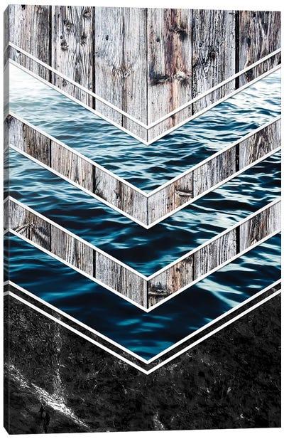 Striped Materials Of Nature III Canvas Art Print