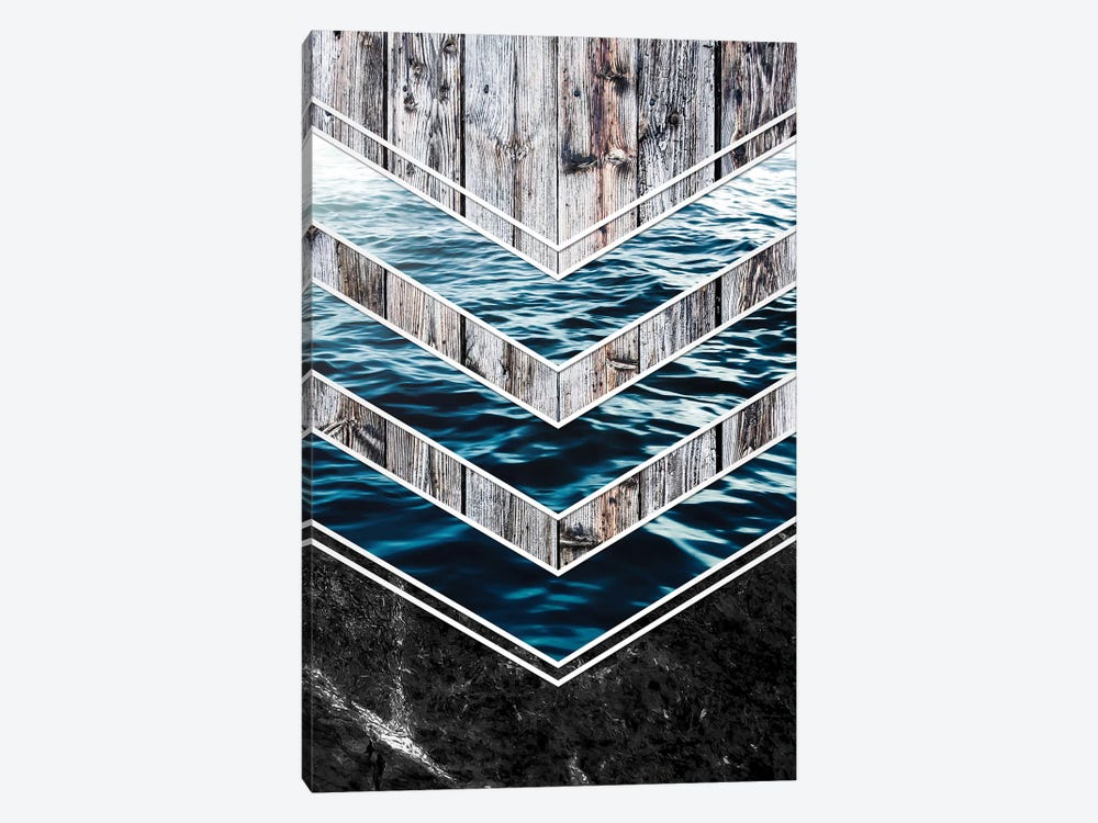Striped Materials Of Nature III by Nicklas Gustafsson 1-piece Canvas Art