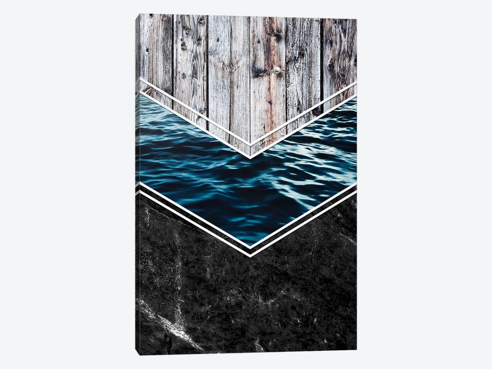 Striped Materials Of Nature IV by Nicklas Gustafsson 1-piece Canvas Art Print