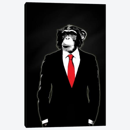 Domesticated Monkey Canvas Print #GUS5} by Nicklas Gustafsson Canvas Art