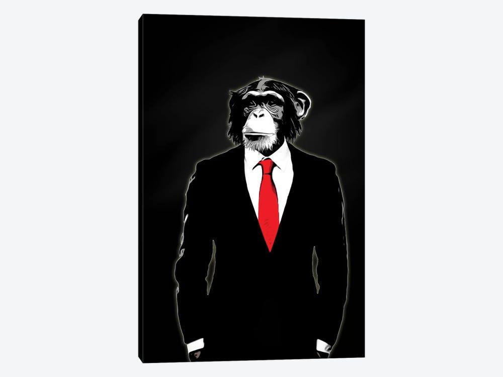 Domesticated Monkey by Nicklas Gustafsson 1-piece Canvas Wall Art
