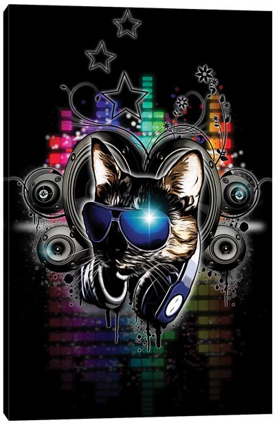 Drop The Bass Canvas Art Print