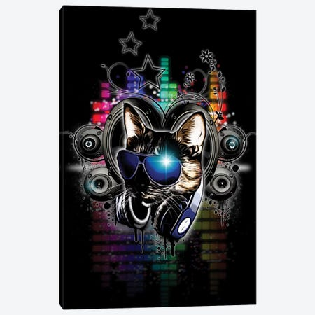 Drop The Bass Canvas Print #GUS6} by Nicklas Gustafsson Canvas Art