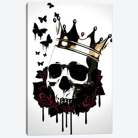 El Rey de la Muerte Canvas Print #GUS8} by Nicklas Gustafsson Art Print