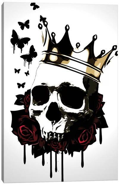 El Rey de la Muerte Canvas Art Print