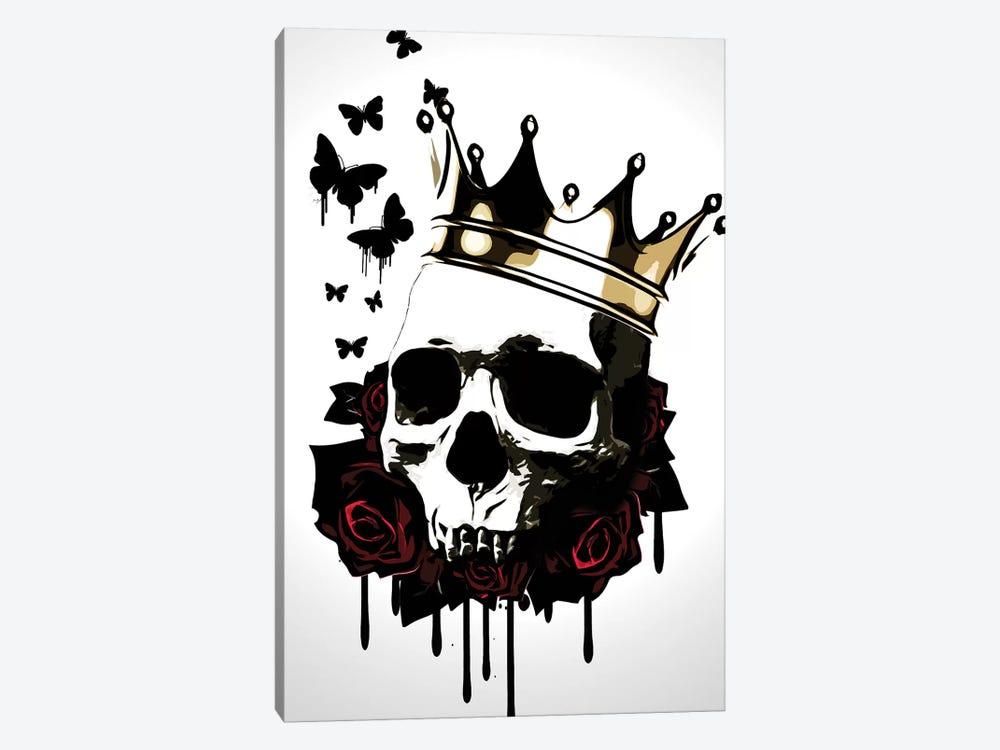 El Rey de la Muerte by Nicklas Gustafsson 1-piece Canvas Print
