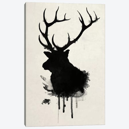 Elk Canvas Print #GUS9} by Nicklas Gustafsson Art Print