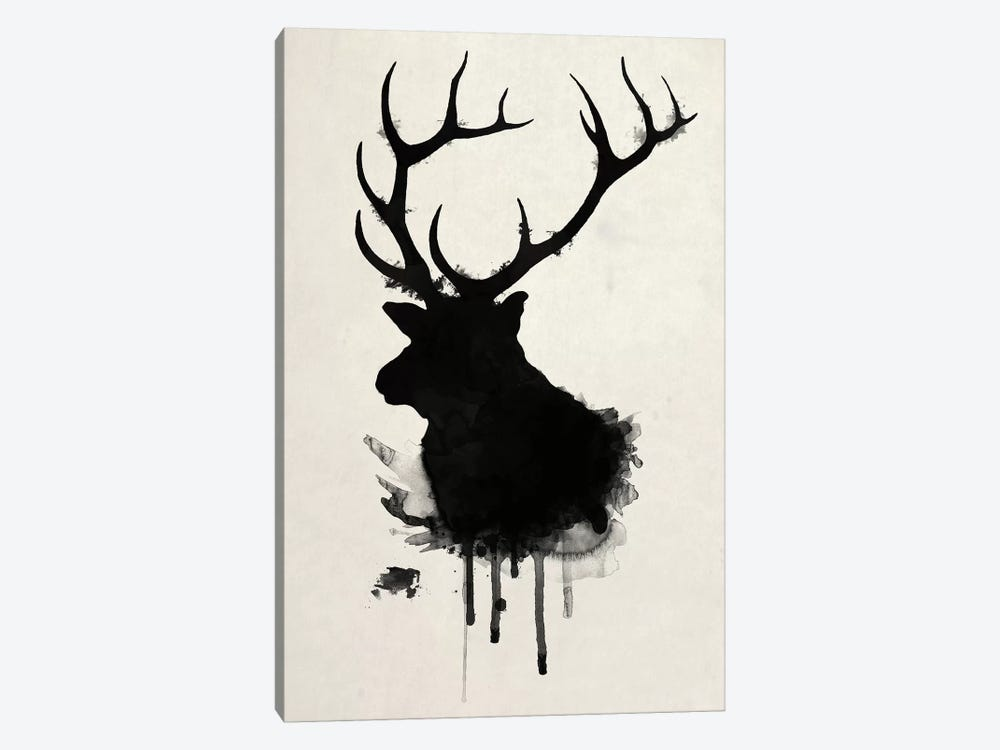 Elk by Nicklas Gustafsson 1-piece Canvas Art