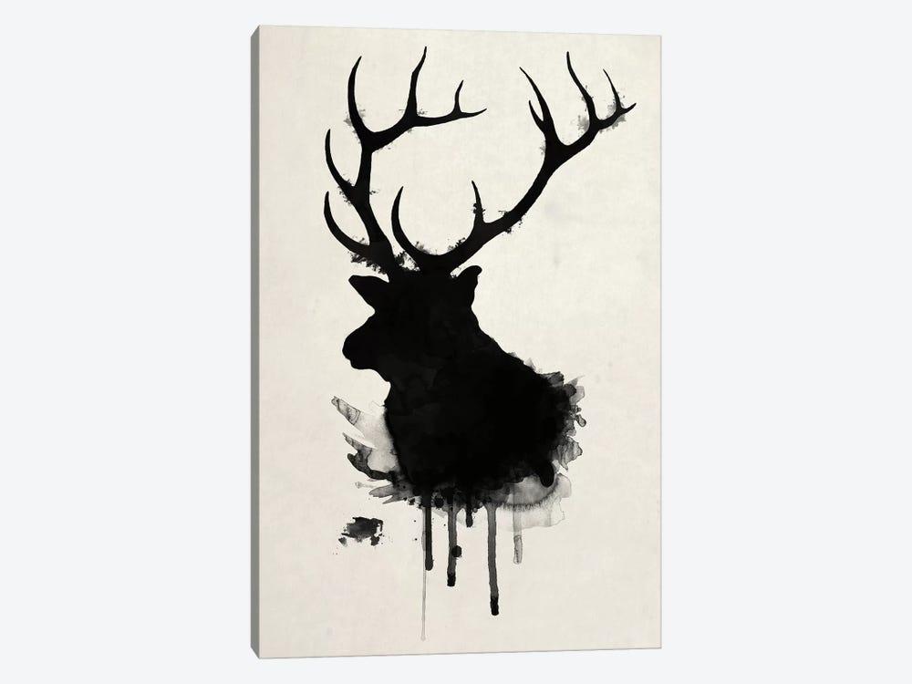 Elk by Nicklas Gustafsson 1-piece Canvas Art