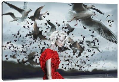 The Birds Canvas Art Print